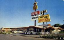 MTL001942 - Travisands Motel, Fairfield, CA, USA Motel Hotel Postcard Post Card Old Vintage Antique