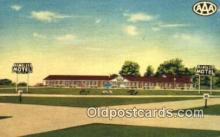 MTL001947 - Rambler Motel, Cameron, MO, USA Motel Hotel Postcard Post Card Old Vintage Antique