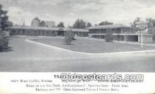 MTL011047 - Trails End Motel, Denver, Lakewood, Colorado, CO USA Hotel Postcard Motel Post Card Old Vintage Antique