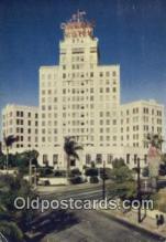 MTL011048 - Hotel El Cortez, San Diego, California, CA USA Hotel Postcard Motel Post Card Old Vintage Antique