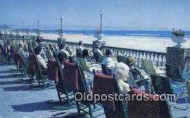 MTL011085 - Ostend Hotel, Atlantic City, New Jersey, NJ USA Hotel Postcard Motel Post Card Old Vintage Antique