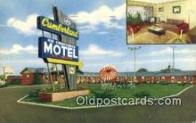 MTL011090 - Cumberland Motel, Clarksville, Tennessee, TN USA Hotel Postcard Motel Post Card Old Vintage Antique