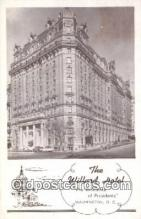 MTL011093 - The Willard, Washington DC, USA Hotel Postcard Motel Post Card Old Vintage Antique