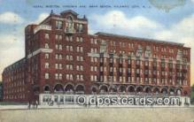 MTL011102 - Hotel Morton, Atlantic City, New Jersey, NJ USA Hotel Postcard Motel Post Card Old Vintage Antique