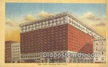 MTL011104 - Hotel Statler, Cleveland, Ohio, OH USA Hotel Postcard Motel Post Card Old Vintage Antique
