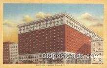 MTL011106 - Hotel Statler, Cleveland, Ohio, OH USA Hotel Postcard Motel Post Card Old Vintage Antique