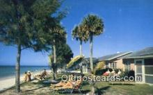 MTL011110 - Holiday Villas, Belleair Beach, Florida, FL USA Hotel Postcard Motel Post Card Old Vintage Antique