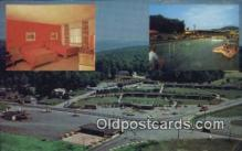 MTL011123 - Rheas Resort Motel, Clarion, Pennsylvania, PA USA  Hotel Postcard Motel Post Card Old Vintage Antique