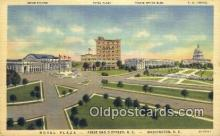MTL011135 - Hotel Plaza, Washington DC< USA Hotel Postcard Motel Post Card Old Vintage Antique
