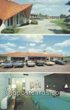 MTL011165 - Howard Johnsons Motor Lodge, Concord, New Hampshire, NH USA Hotel Postcard Motel Post Card Old Vintage Antique