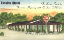 Escalon Motel, Escalon, California, CA USA