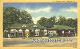 MTL011191 - Emporia Diner, Emporia, Virginia, VA USA Hotel Postcard Motel Post Card Old Vintage Antique