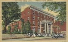 MTL011193 - Princess Anne Hotel, Fredericksburg, Virginia, VA USA Hotel Postcard Motel Post Card Old Vintage Antique
