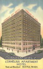 Cornelius Apartment Hotel, Seattle, Washington, WA USA