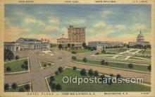 MTL011202 - Hotel Plaza, Washington DC, USA Hotel Postcard Motel Post Card Old Vintage Antique