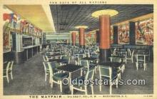 MTL011208 - The Mayfair, Washington DC, USA Hotel Postcard Motel Post Card Old Vintage Antique