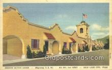MTL011223 - Mission Motor Lodge,  Salt Lake City, Utah, UT USA Hotel Postcard Motel Post Card Old Vintage Antique