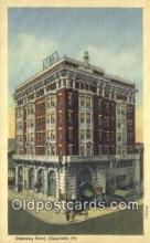 MTL011259 - Dimeling Hotel, Clearfield, Pennsylvania, PA USA Hotel Postcard Motel Post Card Old Vintage Antique