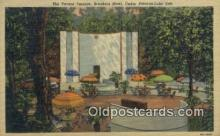 MTL011276 - Tavern Terrace, Breakers Hotel, Cedar Point On Lake Eire, Pennsylvania, PA USA Hotel Postcard Motel Post Card Old Vintage Antique