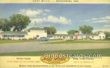 MTL011277 - Haft Motel, Reynoldsburg, Ohio, OH USA Hotel Postcard Motel Post Card Old Vintage Antique