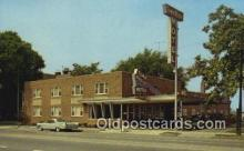 MTL011296 - Town House Motel, Cleveland, Ohio, OH USA Hotel Postcard Motel Post Card Old Vintage Antique