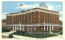 MTL011303 - Hotel Cumberland, Middlesboro, Kentucky, KY USA Hotel Postcard Motel Post Card Old Vintage Antique