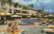 MTL011305 - Miami Skyways Motel, Miami, Florida, FL USA Hotel Postcard Motel Post Card Old Vintage Antique