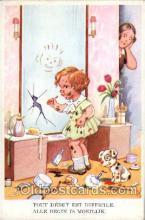 mak000024 - Make Up, Makeup Postcard Postcards
