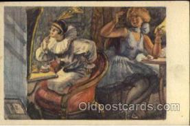 mak000028 - Make Up, Makeup Postcard Postcards