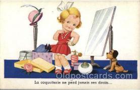 mak000082 - Make Up, Makeup Postcard Postcards