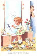 mak000139 - Makeup Make-up postcard postcards