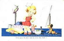 mak000166 - Artist Jim Patt, Makeup Make-up postcard postcards