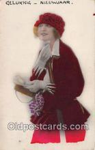 mak000203 - Gelukkig Nieuwjaar  Postcard Post Card