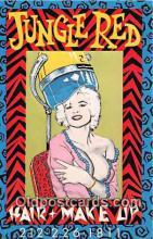 mak000222 - Jungle Red Hair & Make Up  Postcard Post Card