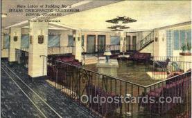 med001002 - Spears Chiropractic Sanitarium and Hospital, D.D. Palmer Building, Denver Colorado, USA