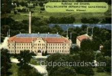 med001008 - Still Hildreth Osteopathic Sanatorium, Macon Missouri, USA Postcard Postcards