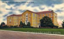 med100005 - Wichita Falls Clinic Hospital, Wichita Falls, Texas, USA, Medical Hospital Postcard Postcards