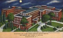 med100013 - North Carolina USA Baptist Hospital and Bowman Gray School of Medicine, Winston Salem, N.C. USA, Medical Hospital Postcard Postcards