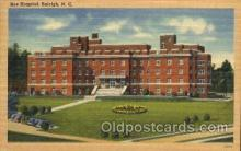 med100018 - Rex Hospital, Raleigh, N.C. USA, Medical Hospital Postcard Postcards