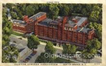 med100022 - Clifton Springs, New York NY, USA, Medical Hospital Postcard Postcards