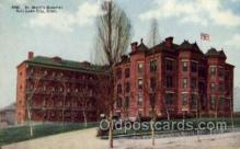 med100024 - St. Marks Hospital, Salt Lake City, Utah, USA, Medical Hospital Postcard Postcards