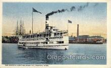 med100027 - Boston Floating Hospital, Boston, Massachusetts, Mass, USA, Medical Hospital Postcard Postcards