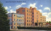 med100029 - Sacred Heart Hospital, Manchester, NH USA, Medical Hospital Postcard Postcards