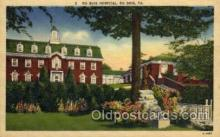 med100036 - Du Bois Hospital, Du Bois, Pennsylvania,  PA, USA, Medical Hospital Postcard Postcards