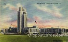 med100039 - New Medical Center, Washington, D.C. USA, Medical Hospital Postcard Postcards