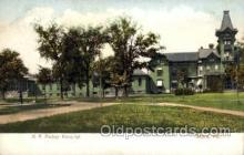 med100041 - R.A. Packer Hospital, Sayre, Pennsylvania,  PA, USA, Medical Hospital Postcard Postcards