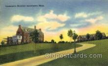 med100043 - Leominster Hospital, Leominster, Massachusetts,  Mass, USA, Medical Hospital Postcard Postcards