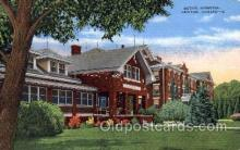 med100046 - Bethel Hospital, Newton, Kansas, USA, Medical Hospital Postcard Postcards