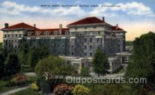 med100047 - Battle Creek Sanitarium, Battle Creek, Michigan, USA, Medical Hospital Postcard Postcards