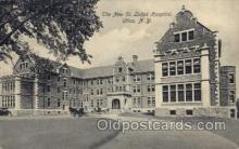 med100048 - St. Lukes Hospital, Utica, New York, NY USA, Medical Hospital Postcard Postcards